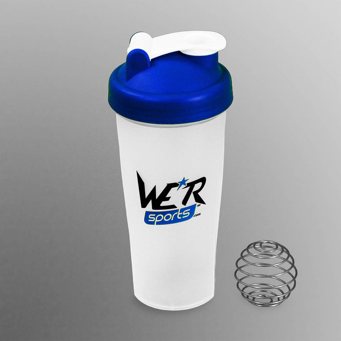 blue 700ml shaker bottle