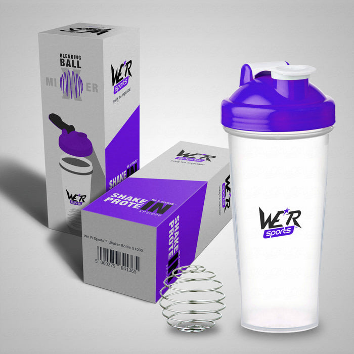 violet old skool shaker bottle