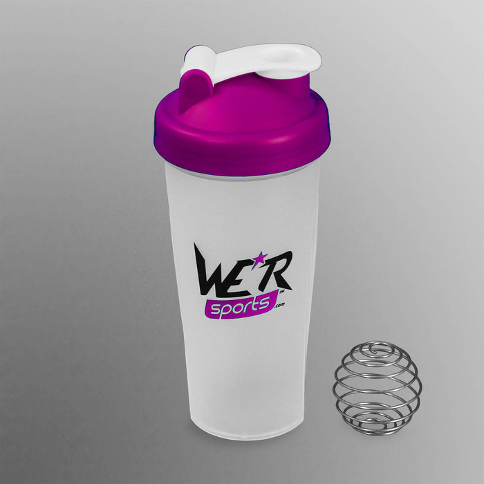 purple 700ml shaker bottle