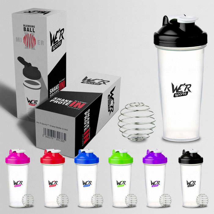 700ml ShakenInProtein Shaker Bottle Old Skool from WeRSports