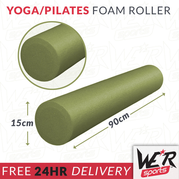 24 hr delivery of green yoga/pilates foam roller from WeRSports