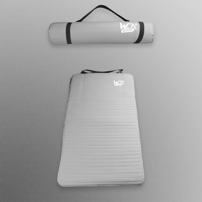 white 10mm yoga mat from WeRSports