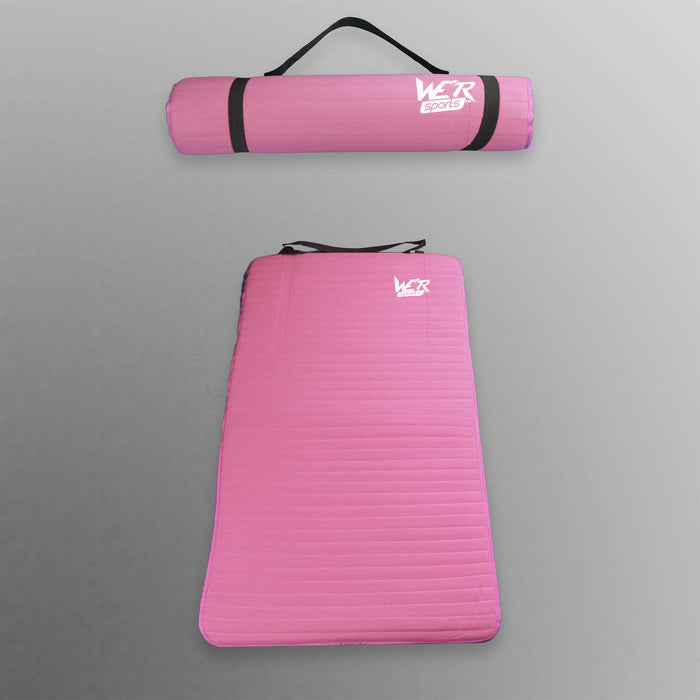 pink 10mm yoga mat from WeRSports