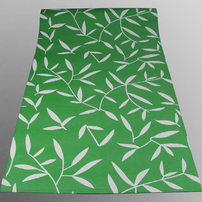 green YogaFlex Yoga Mat Pattern