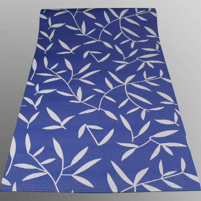 blue YogaFlex Yoga Mat Pattern