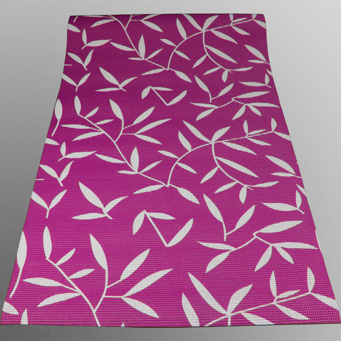 purple YogaFlex Yoga Mat Pattern