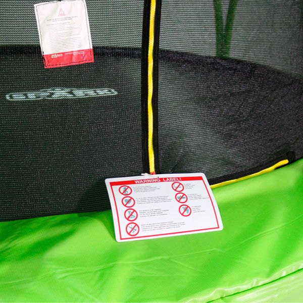 BounceXtreme safety net padding from WeRSports