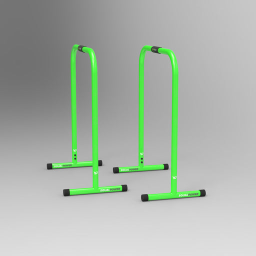 green parallel bars from WeRSports