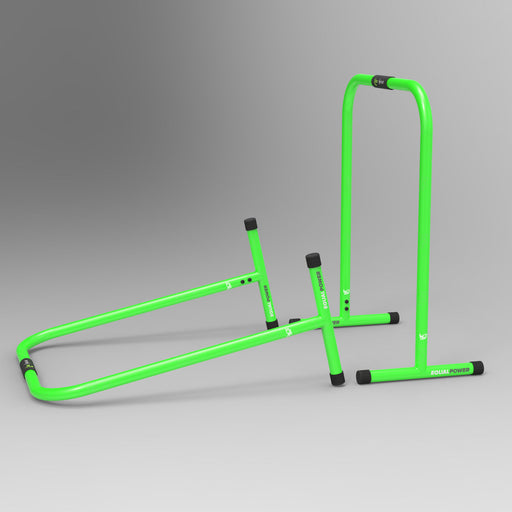 green parallel bars items
