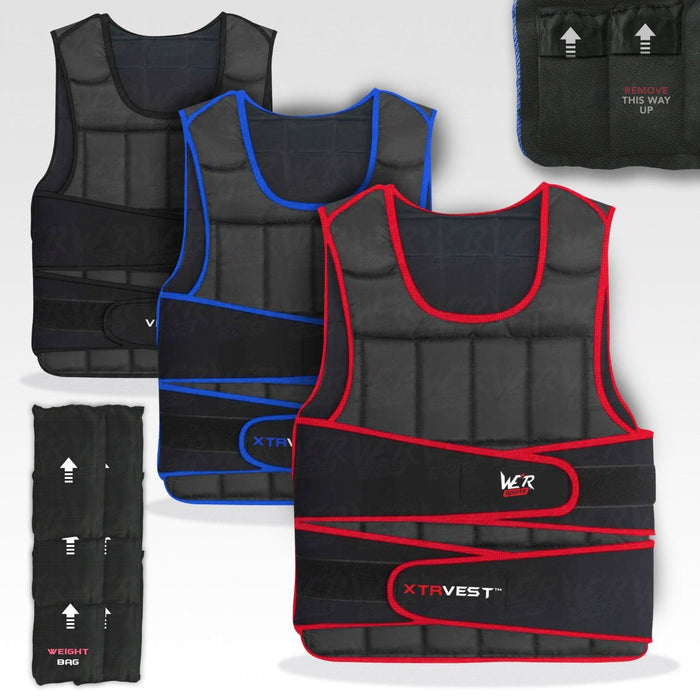 XTR weighted vest for cross fit training by WeRSports