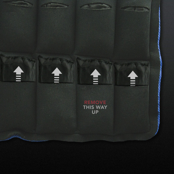 Weighted Vest weight pockets