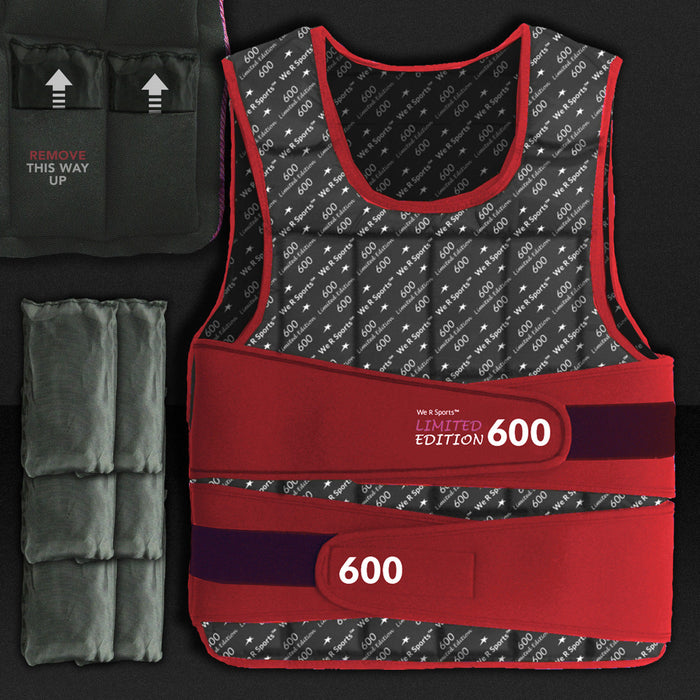 XTR Weight Vest and accessories by WeRSports