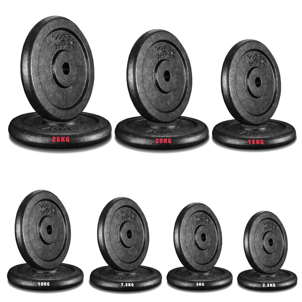 "1"" CastXPlate Cast Iron Weight Plate from WeRSports"