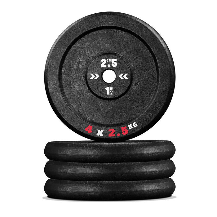 4 2.5kg Cast iron weight plate