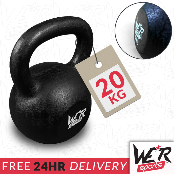 24 hr delivery 20 kg kettlebell by WeRSports