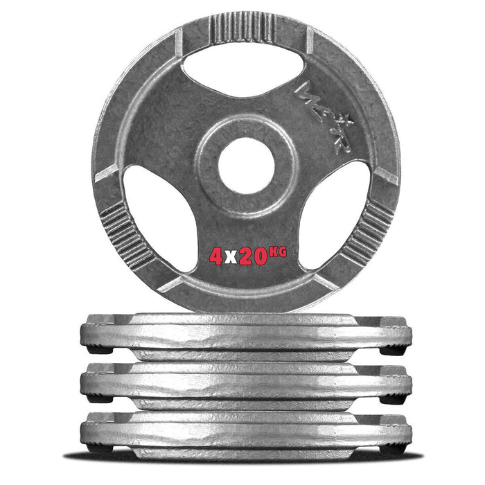 4 20kg cast iron weight plate
