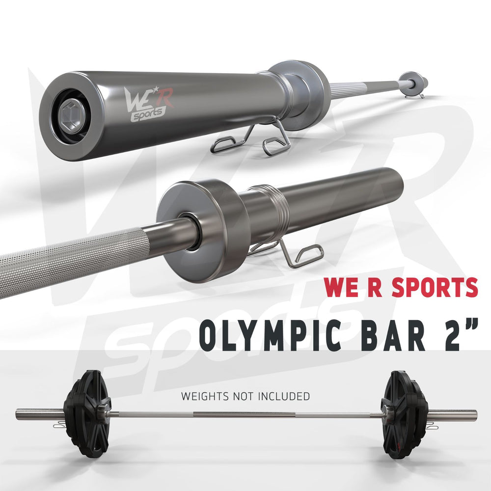 Olympic Barbell Bar from WeRSports