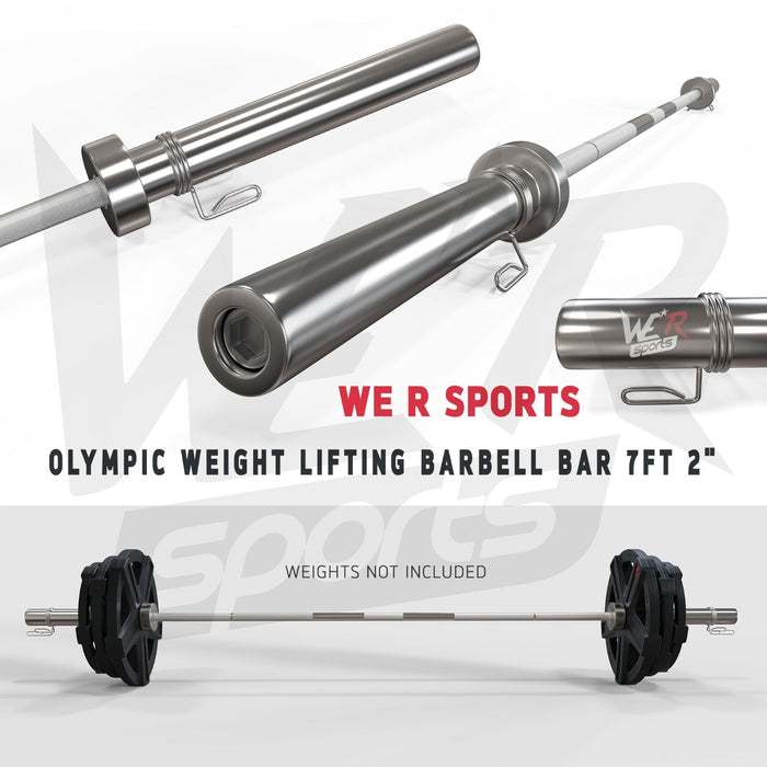 "WeRSports 2"" weightlifting barbell bar"