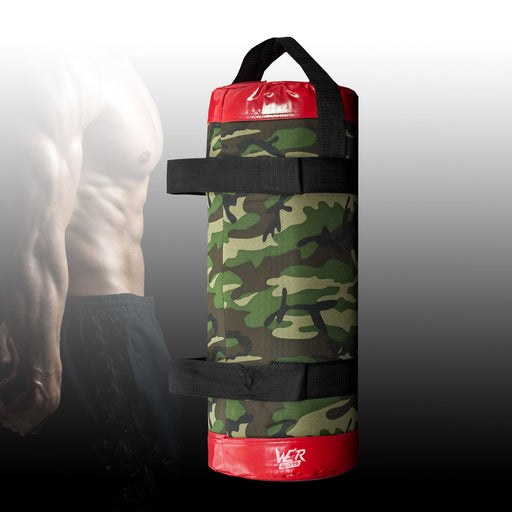 PowwaBagX Camouflage Power Bag for crossfit training