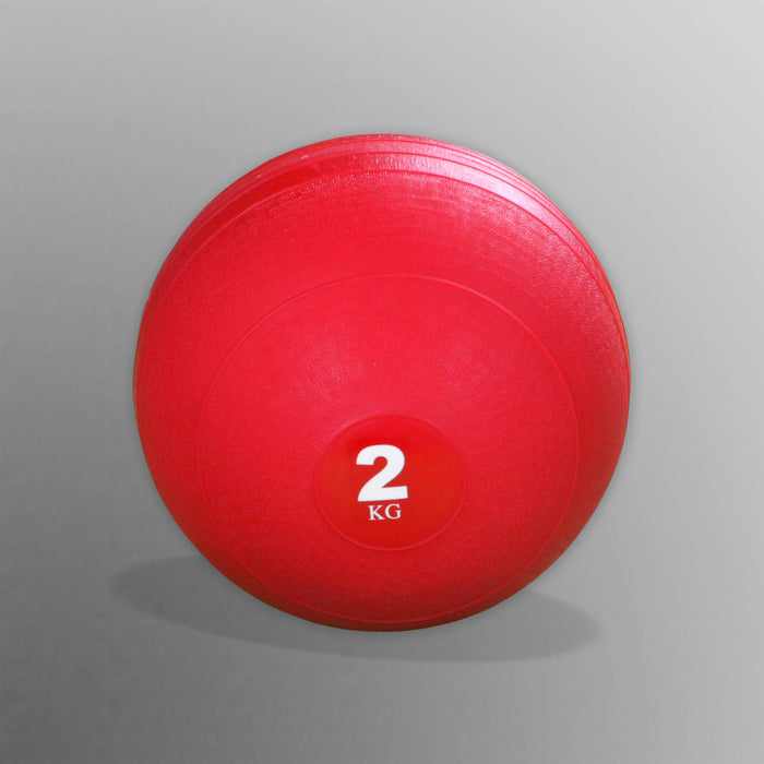 2kg red slam ball for WeRSports in W8Ball