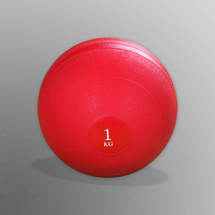1kg red slam ball for WeRSports in W8Ball