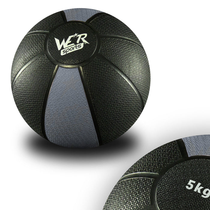 grey W8Ball Crossfit Medicine Ball