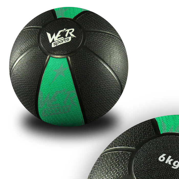 green W8Ball Crossfit Medicine Ball