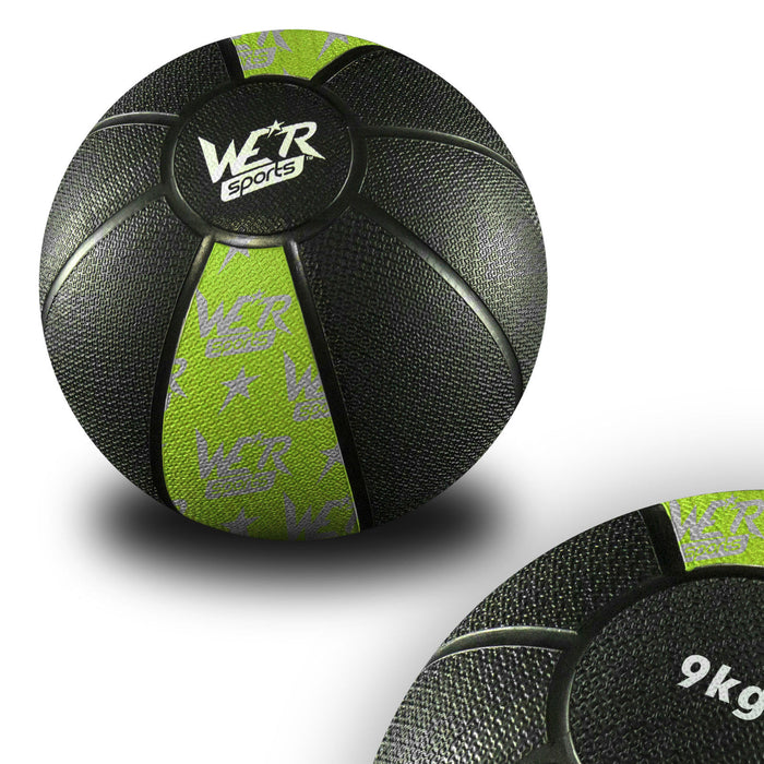 yellow-green W8Ball Crossfit Medicine Ball