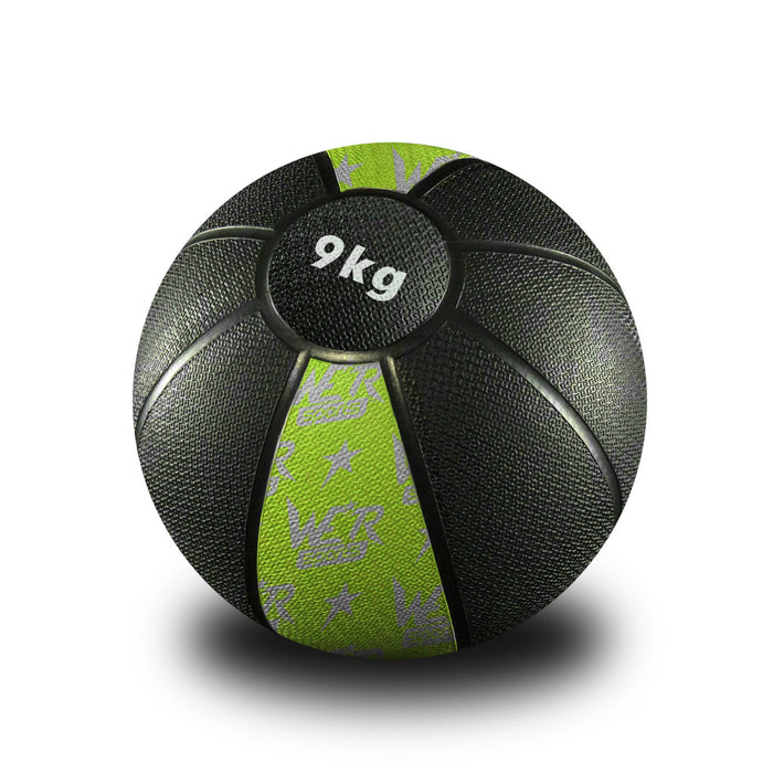 yellow-green W8Ball Crossfit Medicine Ball from WeRSports