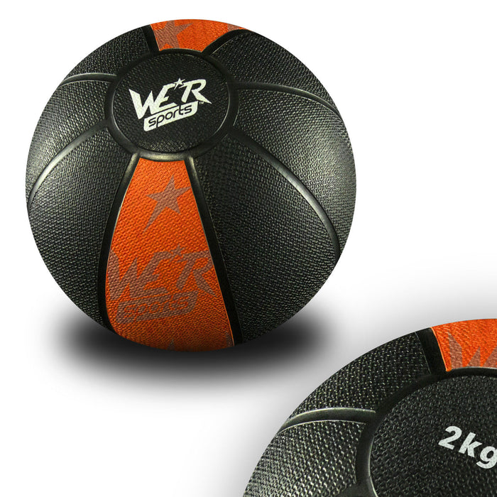orange W8Ball Crossfit Medicine Ball