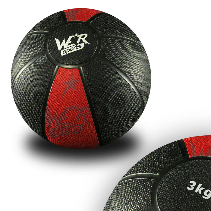 red W8Ball Crossfit Medicine Ball