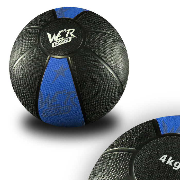 blue W8Ball Crossfit Medicine Ball