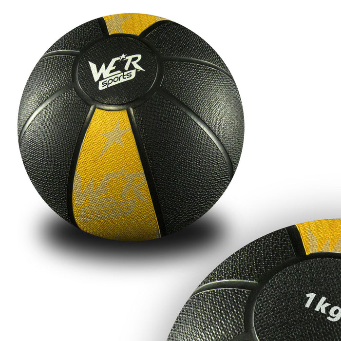 Yellow W8Ball Crossfit Medicine Ball