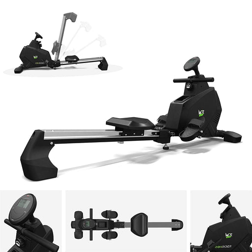 Rowing Machine Body Toner Home Rower Fitness Cardio Workout RowRider