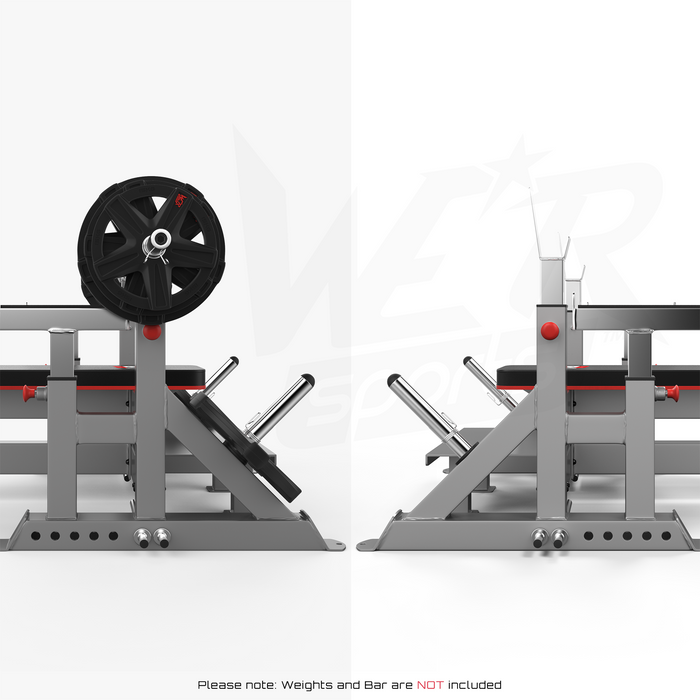 Weight plate rack from WeRSports