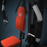 black and orange home multi gym parts