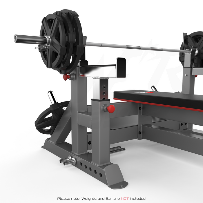 Bar rack from WeRSports, WeRSports weight bench plate rack
