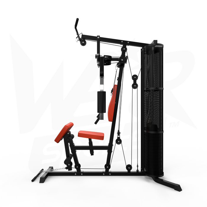 Side view of VenomXtreme home multi gym