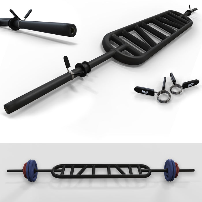 "Multi Handle Grip Triceps Bar 1"" BLACK"