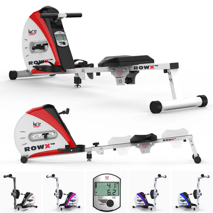 rowx rowing machine main red1 Red revxtreme