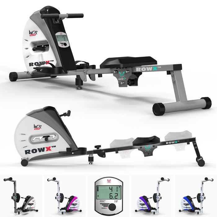 rowx rowing machine main silver1 Silver revxtreme