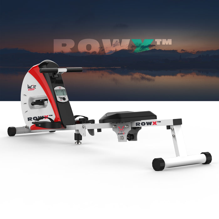 rowx rowing machine red revxtreme