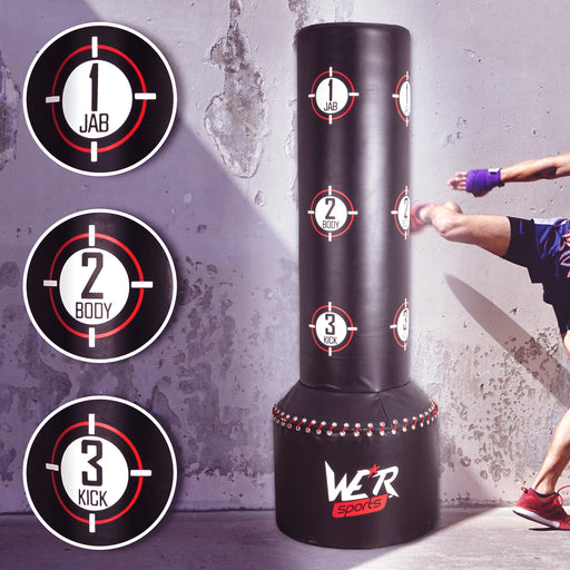 Boxing Free Standing Heavy Duty Punch Bag Stand MMA Kick Strike