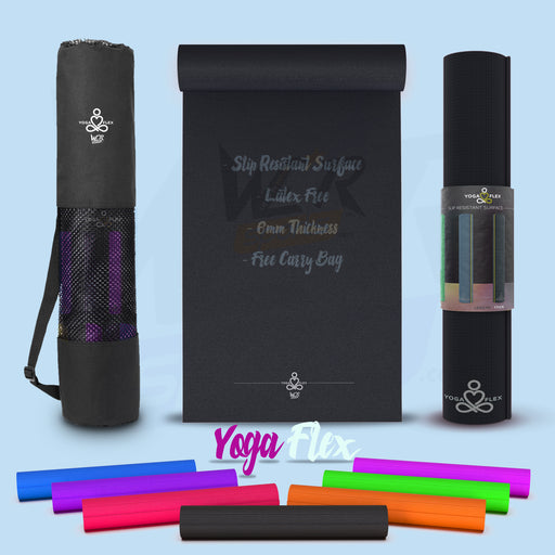 yoga flex final main amazon black Black yogaflex mat