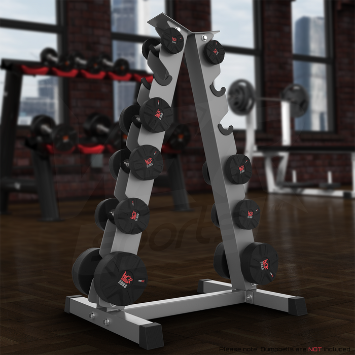 A Frame Dumbell Rack from WeRSports