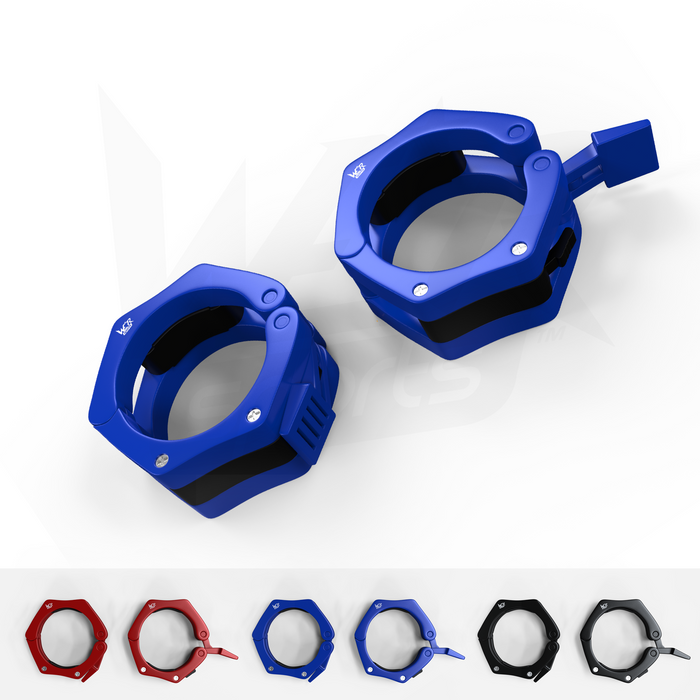 blue bar clip collar set