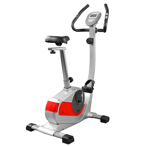 RevXtreme RideX magnetic exercise bike comes in silver and red from WeRSports