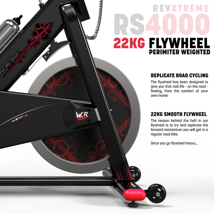 22 kg flywheel exercise bike from WeRSports