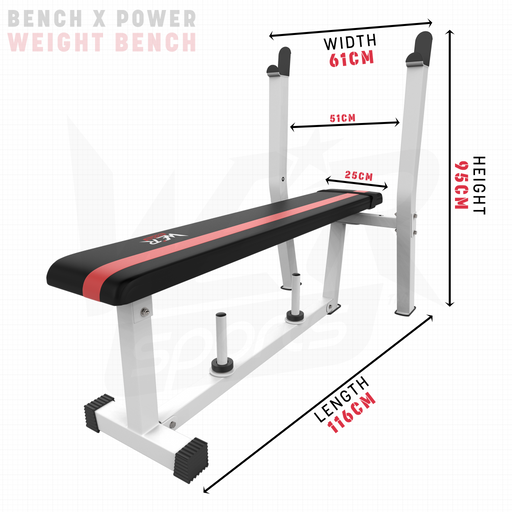 BenchXPower weight bench dimensions