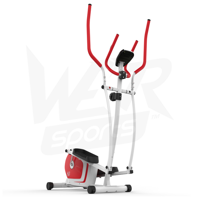 red elliptical cross trainer from We R Sports